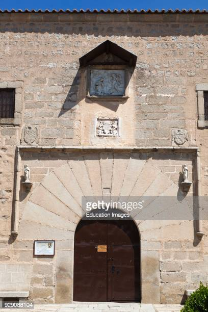Avila Avila Province Spain 15th century Convent of the Encarnación where St Teresa lived for several decades