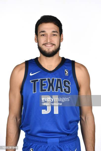 Avila of the Texas Legends poses for a head shot during the NBA GLeague media day at Dr Pepper Arena in Frisco Texas NOTE TO USER User expressly...
