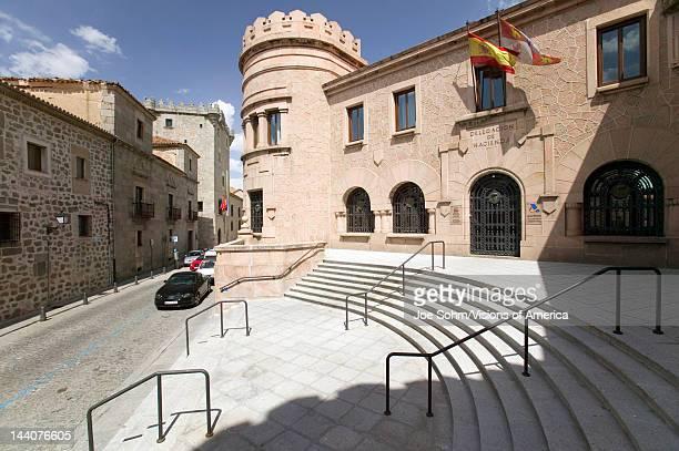 Avila Spain an old Castilian Spanish village