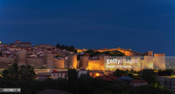 Avila Spain Medieval Walls and Towers