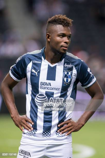 Aviles Hurtado of Monterrey pose prior to the 6th round match between Monterrey and Toluca as part of the Torneo Apertura 2017 Liga MX at BBVA...