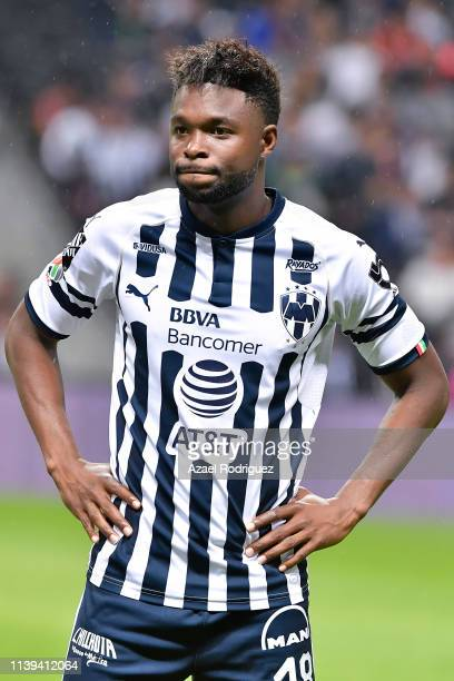 Avilés Hurtado of Monterrey pose prior the 12th round match between Monterrey and Cruz Azul as part of the Torneo Clausura 2019 Liga MX at BBVA...