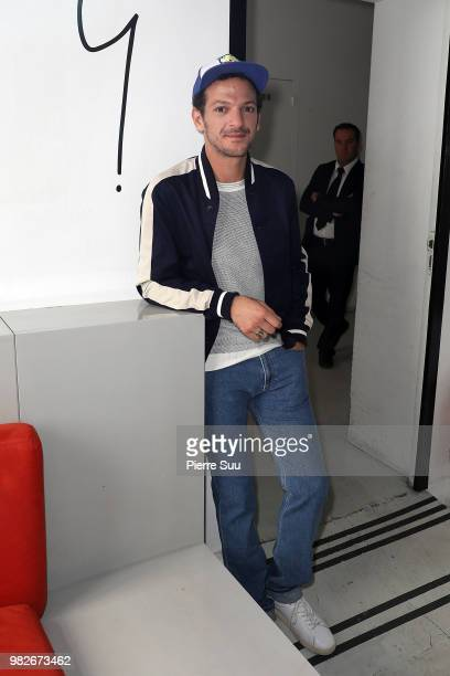AVincent Dedienne attends the Agnes B Menswear Spring/Summer 2019 show as part of Paris Fashion Week on June 24 2018 in Paris France