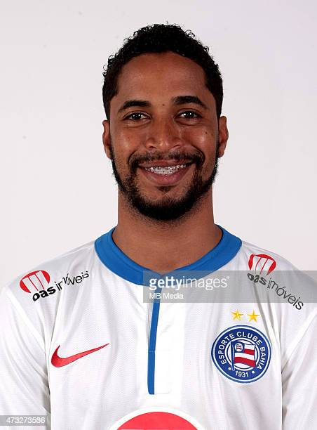 Avine of Esporte Clube Bahia poses during a portrait session August 14 2014 in SalvadorBrazil