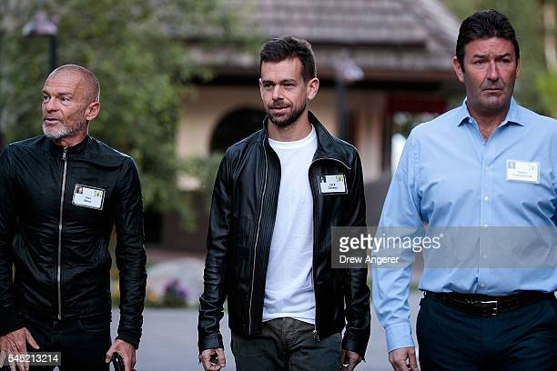 Aviv 'Vivi' Nivo venture capitalist and major shareholder in Time Warner Jack Dorsey cofounder and chief executive officer of Twitter and Steve...