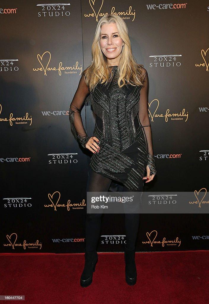 Aviva Drescher attends 2013 We Are Family Foundation Gala at Hammerstein Ballroom on January 31, 2013 in New York City.