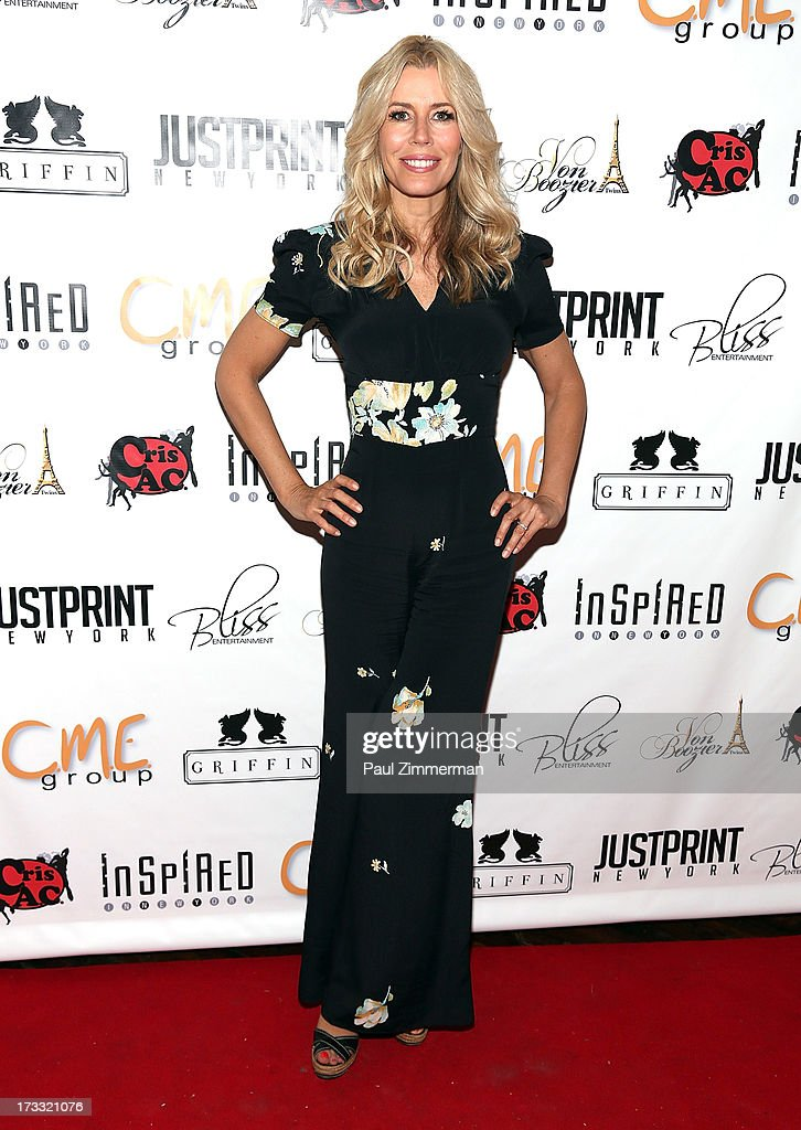 Aviva Drescher attends 'Inspired In New York' event on July 11, 2013 in New York, United States.
