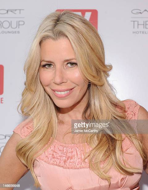 Aviva Drescher attends the TV Guide Magazine Andy Cohen Book Signing Party on June 21 2012 in New York City