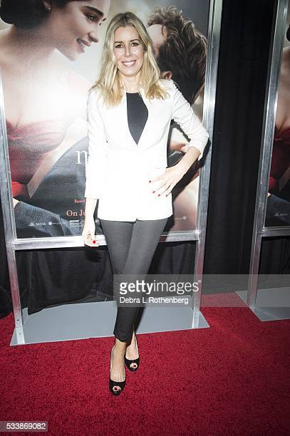 Aviva Drescher attends the World Premiere of 'Me Before You' at AMC Loews Lincoln Square 13 theater on May 23 2016 in New York City