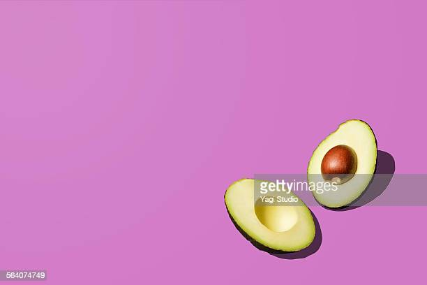 avocado - two objects stock pictures, royalty-free photos & images