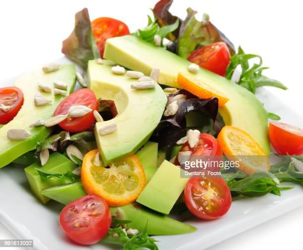 avocado salad - svetlana stock photos and pictures