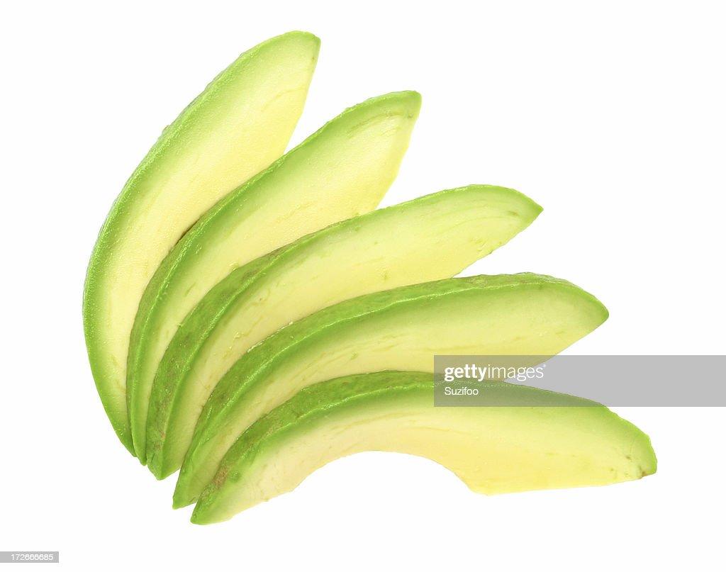 avocado-Scheiben : Stock-Foto