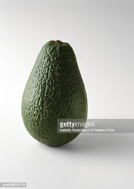 Avocado, standing on end, close-up