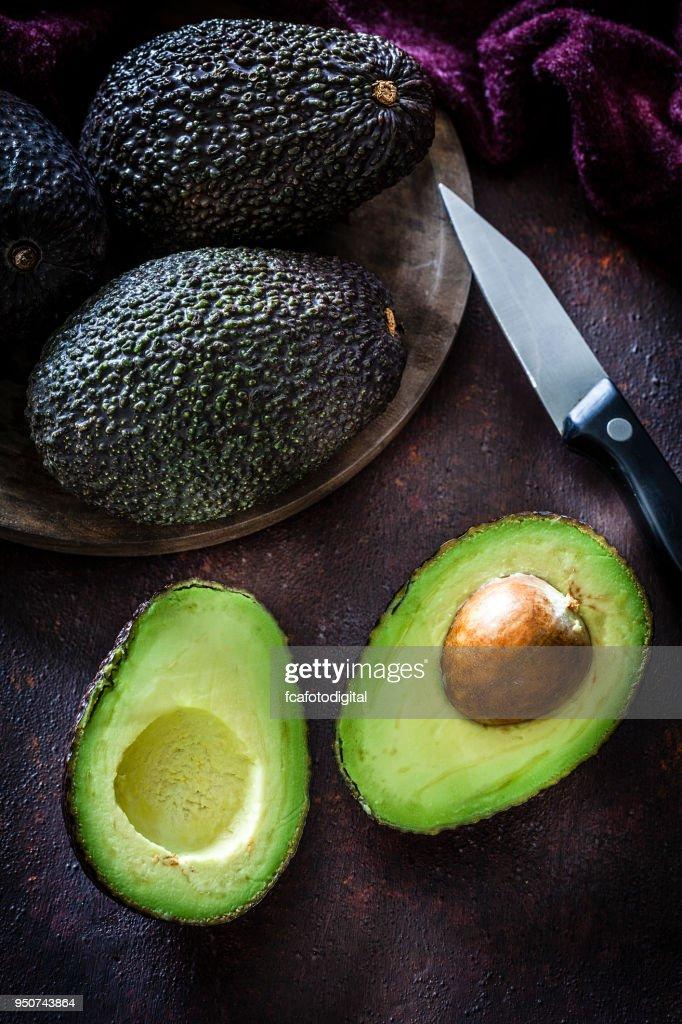 Avocado Stillleben : Stock-Foto