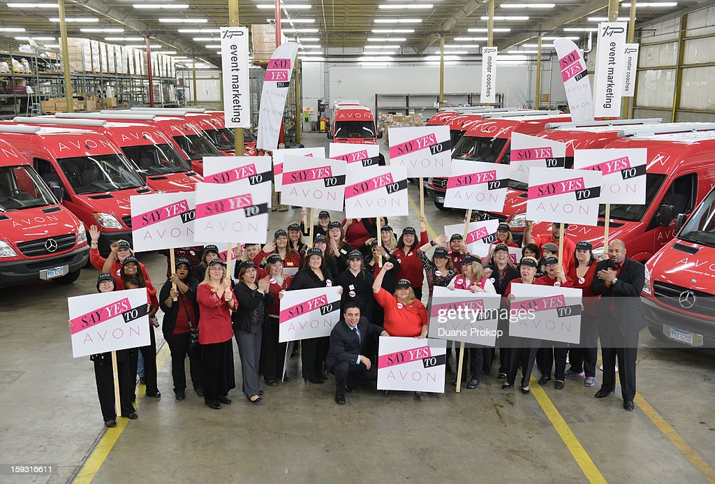 Avon Kicks off the SAY YES TO AVON BEAUTY on January 11, 2013 in Columbus, Ohio.