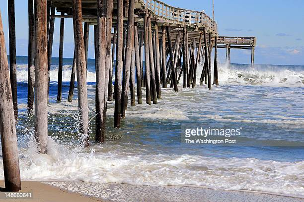 Avon Pier is a five minute walk from a vacation home for sale on the Outer Banks a beautiful spot to fish or walk the beach Sunday February 12 2012...