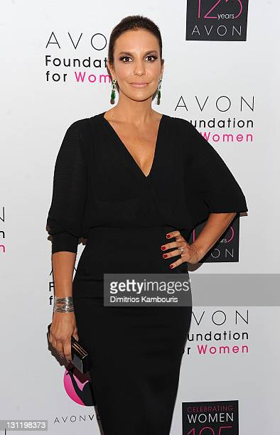 Avon Voices Judge Brazil's biggest pop star Ivete Sangalo attends the celebration of Avon's 125th Anniversary at the Avon Foundation Global Voices...