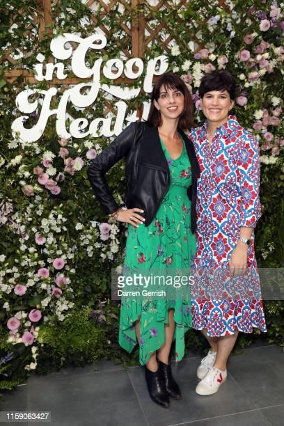 Avra van der Zee and Elise Loehnen at In goop Health London 2019 on June 29 2019 in London England