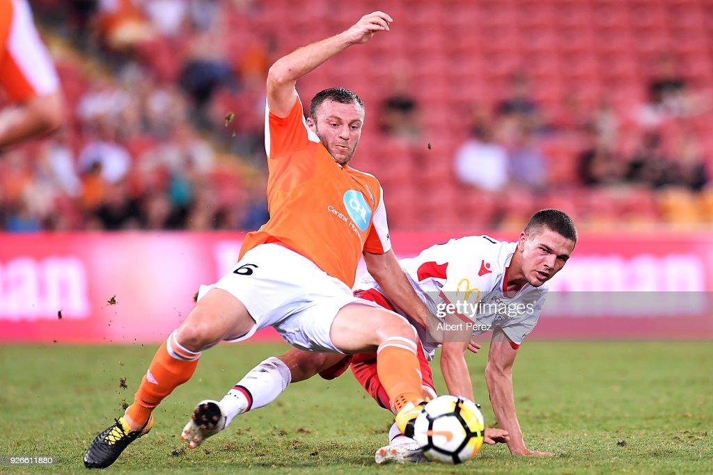 A-League Rd 22 - Brisbane v Adelaide
