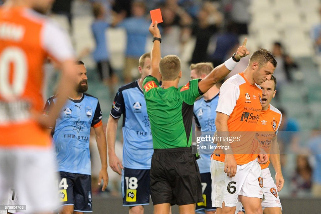 A-League Rd 8 - Sydney v Brisbane