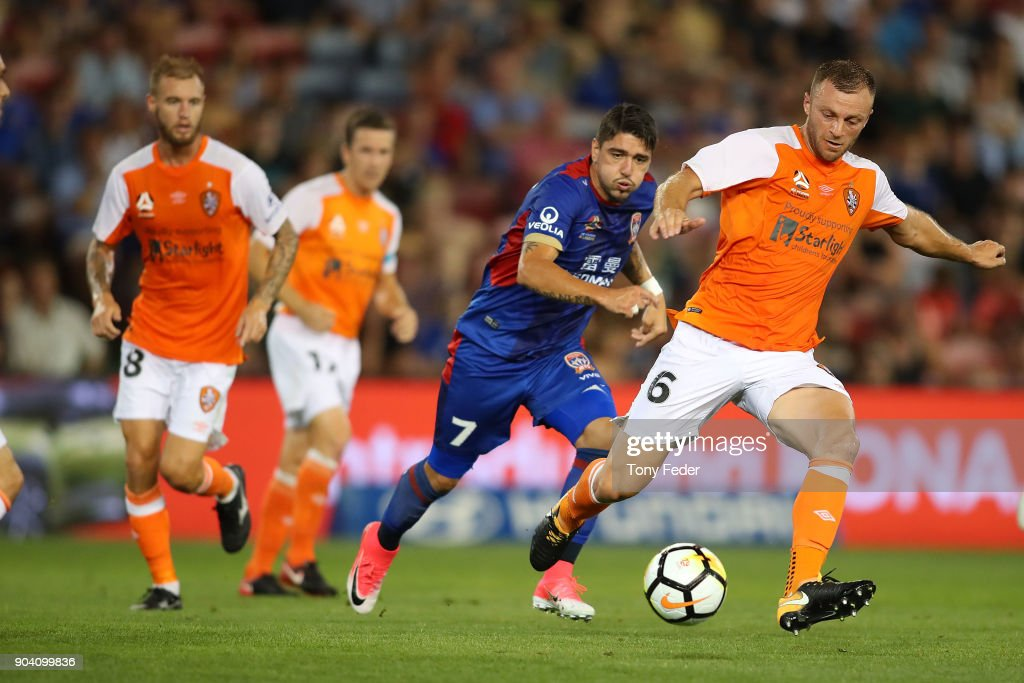A-League Rd 16 - Newcastle v Brisbane