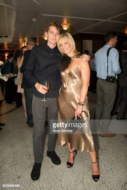 Avril Graham and Jasper Graham attend the Gleneagles Season Opener 2017 celebrating a new era of the Glorious Playground at The Gleneagles Hotel on...