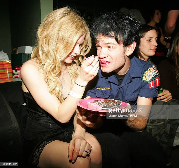 Avril Lavigne and Deryck Whibley *exclusive*