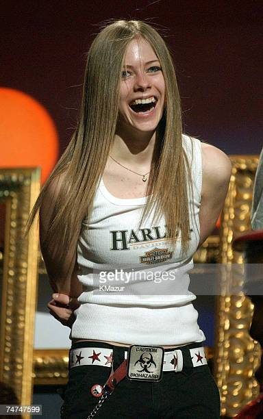 Avril Lavigne at the Jackie Gleason Theater in Miami Florida