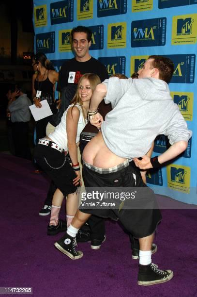 Avril Lavigne attending the 2002 MTV Video Music Awards Latinoamerica at the Jackie Gleason Theater Miami FL