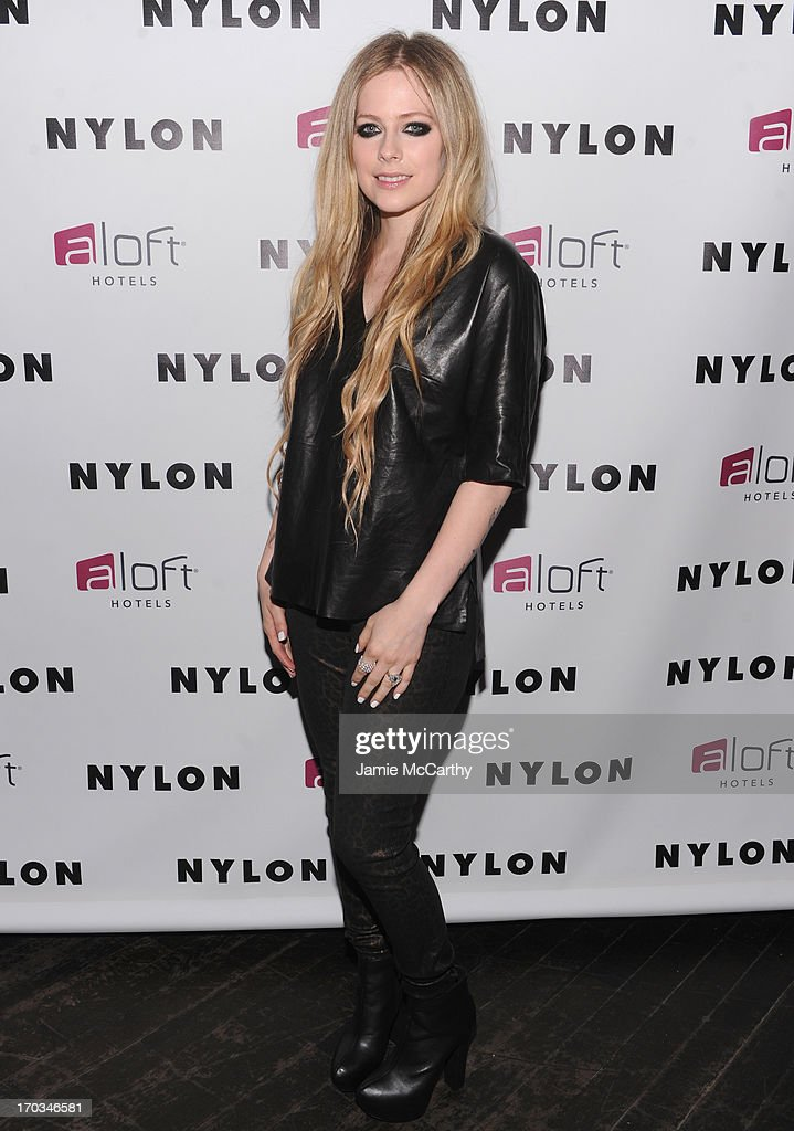 NYLON And Aloft Hotels Celebrate The June/July Music Issue With Avril Lavigne