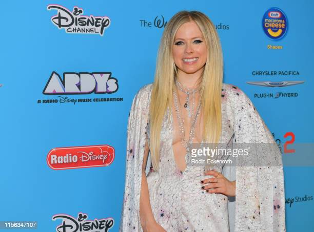 Avril Lavigne attends the 2019 Radio Disney Music Awards at CBS Studios - Radford on June 16, 2019 in Studio City, California.