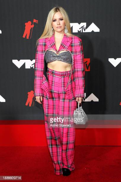 Avril Lavigne attends the 2021 MTV Video Music Awards at Barclays Center on September 12, 2021 in the Brooklyn borough of New York City.