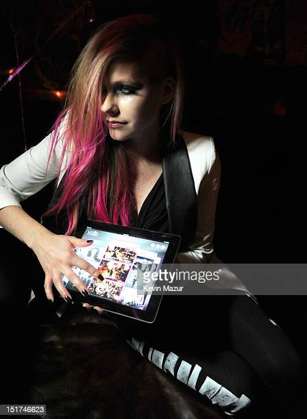 Avril Lavigne attends the Abbey Dawn by Avril Lavigne after party presented by Vodio at Catch Roof on September 10 2012 in New York City