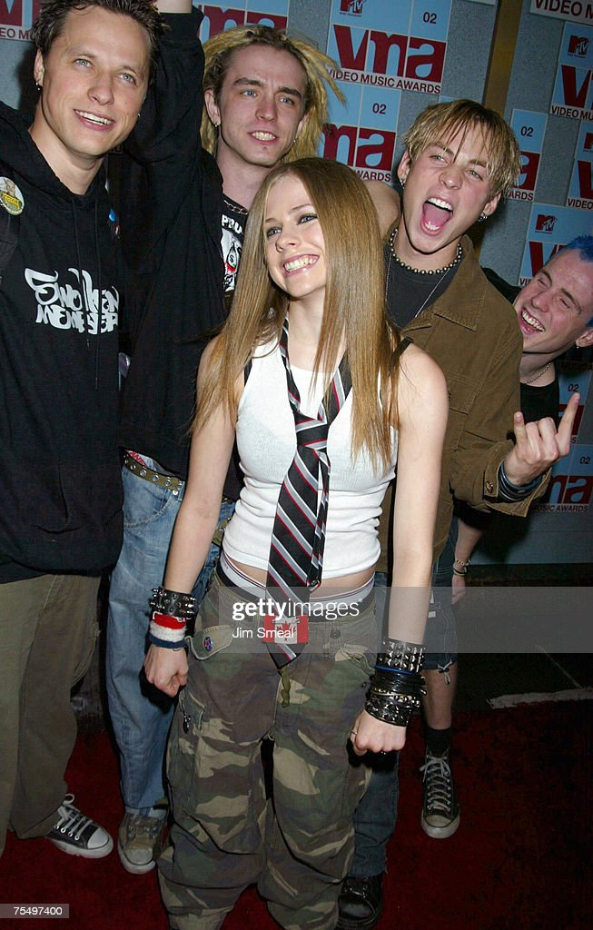 Avril Lavigne & Band at the Radio City Music Hall in New York City, New York