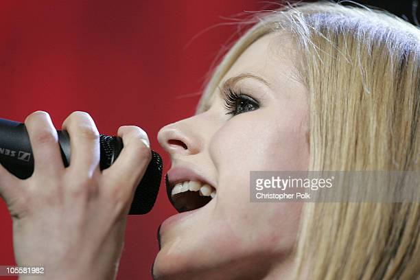 Avril Lavigne during 102.7 KIIS FM's Jingle Ball at Arrowhead Pond in Anaheim, CA, United States.