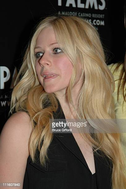 Avril Lavigne during 1st Annual Fantasy Suite Block Party at Palms Casino Resort - Fantasy Tower in Las Vegas, NV, United States.