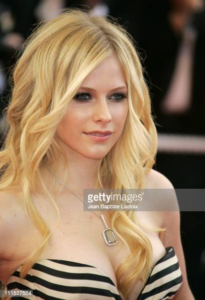 Avril Lavigne during 2006 Cannes Film Festival Over The Hedge Premiere at Palais des Festival in Cannes France