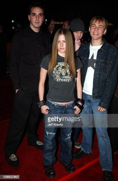 Avril Lavigne during 8 Mile Premiere at Mann Village Westwood in Westwood CA