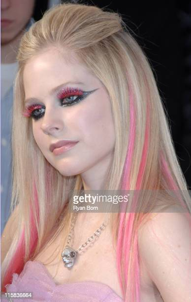 Avril Lavigne during Avril Lavigne CD Release Party Outside Arrivals at The Box in New York City New York United States