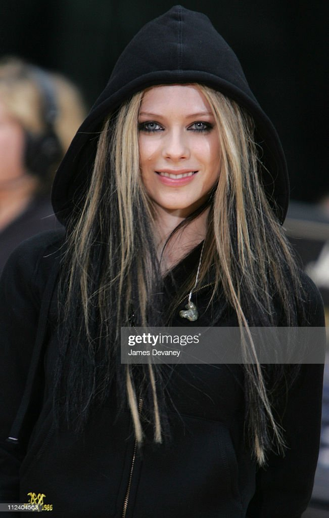 Avril Lavigne during Avril Lavigne Performs on 'The Today Show' Summer Concert Series - May 21, 2004 at NBC Studios, Rockefeller Plaza in New York City, New York, United States.