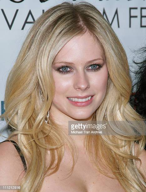 "Avril Lavigne during ""Fast Food Nation"" Los Angeles Premiere - Arrivals at Egyptian Theater in Hollywood, California, United States."