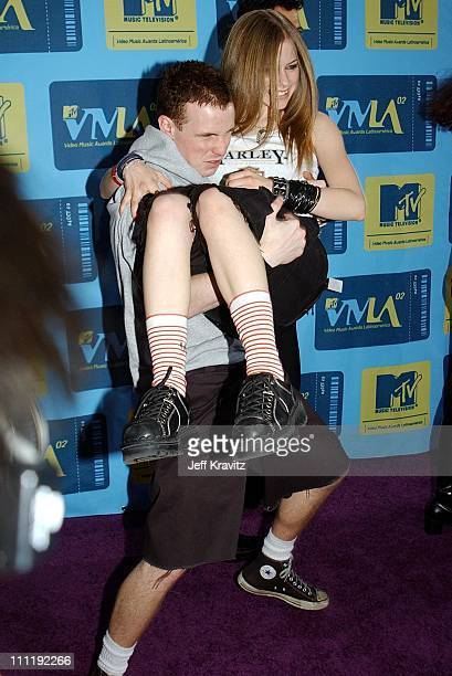 Avril Lavigne during MTV Video Music Awards Latinoamerica 2002 Arrivals at Jackie Gleason Theater in Miami FL United States