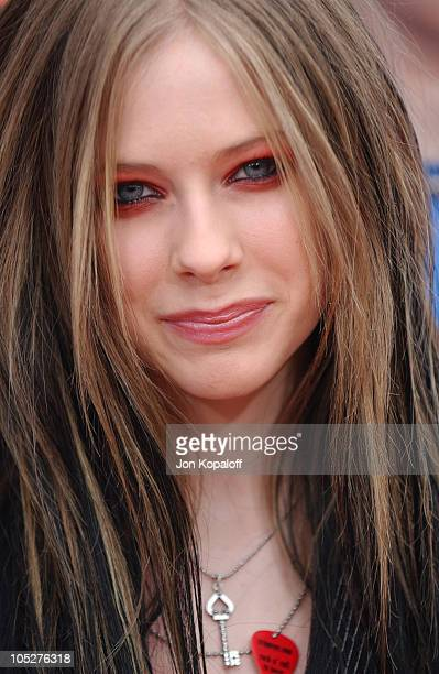 Avril Lavigne during Nickelodeon's 17th Annual Kids' Choice Awards Arrivals at Pauley Pavillion in Westwood California United States