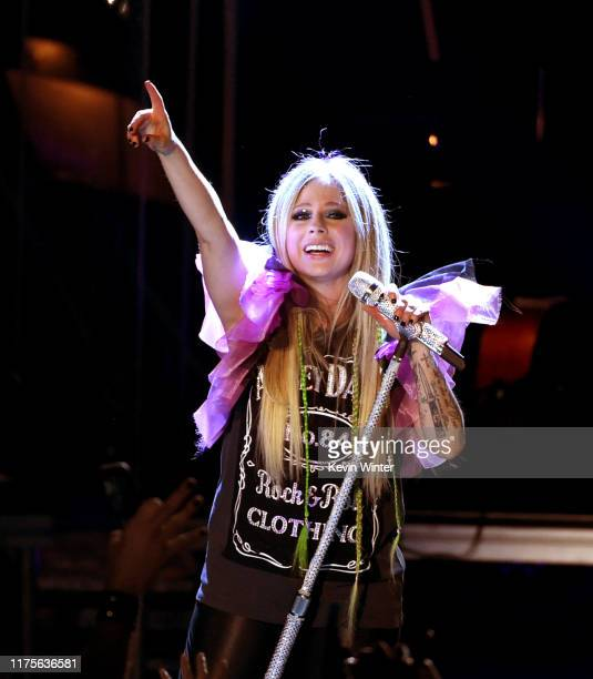 Avril Lavigne performs onstage at The Greek Theatre on September 18, 2019 in Los Angeles, California.