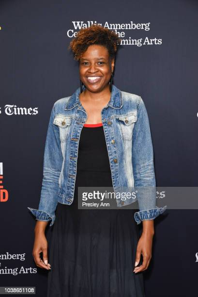 Lacey Leavitt attends 2018 LA Film Festival Dear Producer Panel The Future Of Producing at Wallis Annenberg Center for the Performing Arts on...