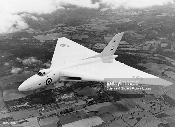 Avro 698 Vulcan 30 August 1952 Avro 698 Vulcan 30 August 1952 VX770 prototype on first flight