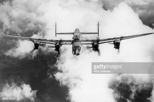 Avro Lancaster. Second World War bomber aircraft.