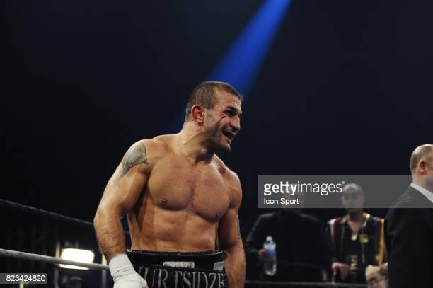 Avtandil KHURTSIDZE Championnat du Monde WBA des poids Moyens Palais des Sports Paris