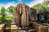 buddha statue avukana temple aukana temple