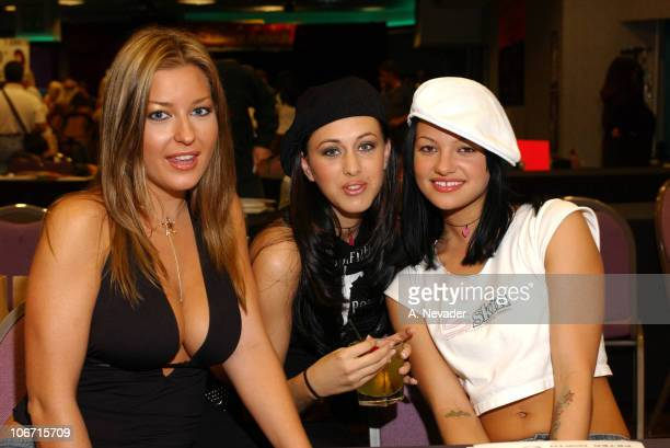 Avy Scott Belladonna and Boo during Adultcon 3 A OneDay Public Fan Fair and Convention Celebrating Adult Entertainment at Hollywood Park Casino in...
